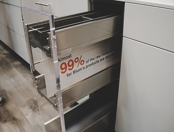 Blum Drawer Slides For Kitchens 2019 Nahb Show