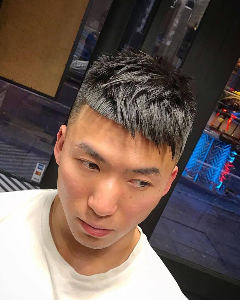 Blunt Fade Haircut