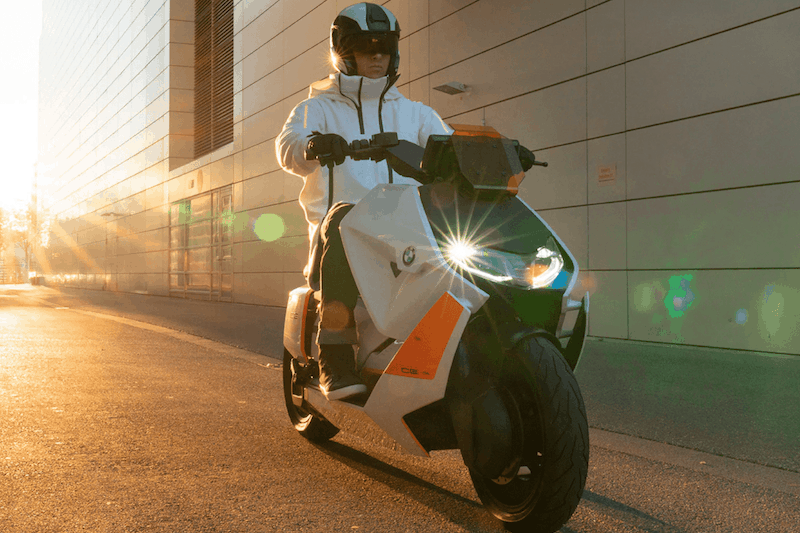 BMW's CE 04 Urban Electric Scooter Rides Into the Future