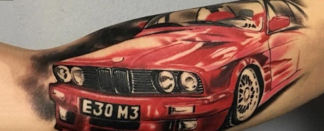 Bmw Tattoo Ideas For Men