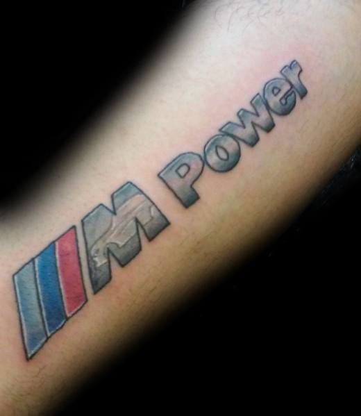 Bmw Themed Tattoo Ideas M Power