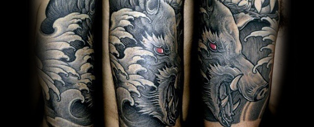 Boar Tattoo Designs For Men