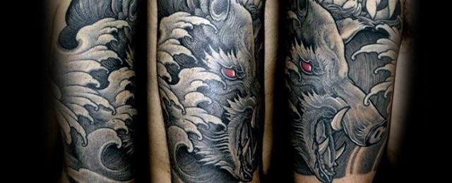 Boar Tattoo Designs For Men