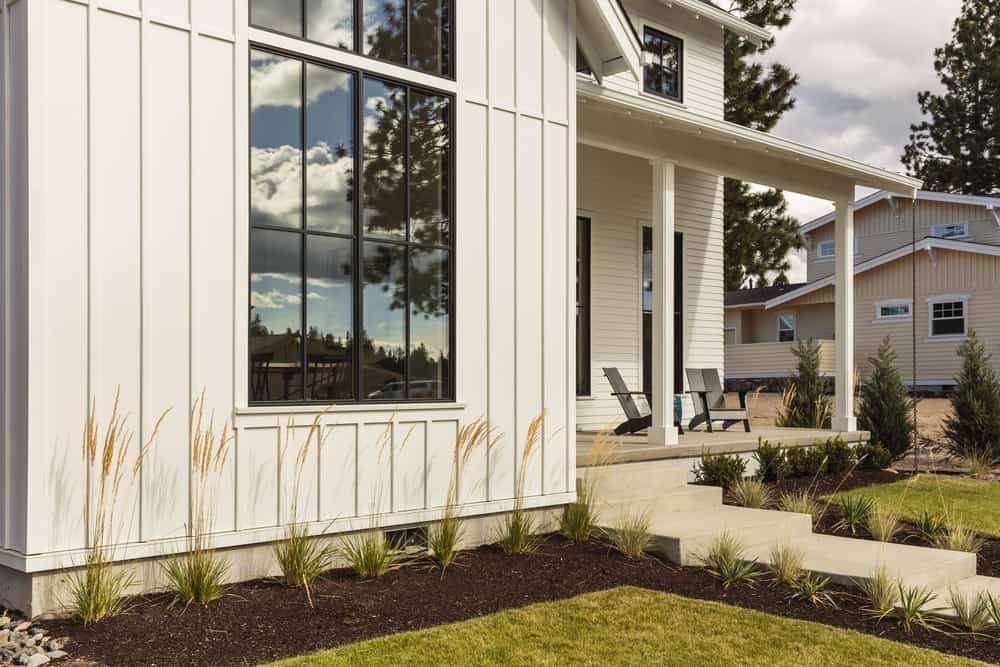 The Top 40 Best Modern Farmhouse Exterior Ideas Exterior Home Design