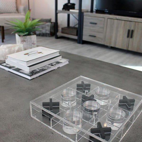 Board Games Unique Bachelor Pad Decor For Coffee Table