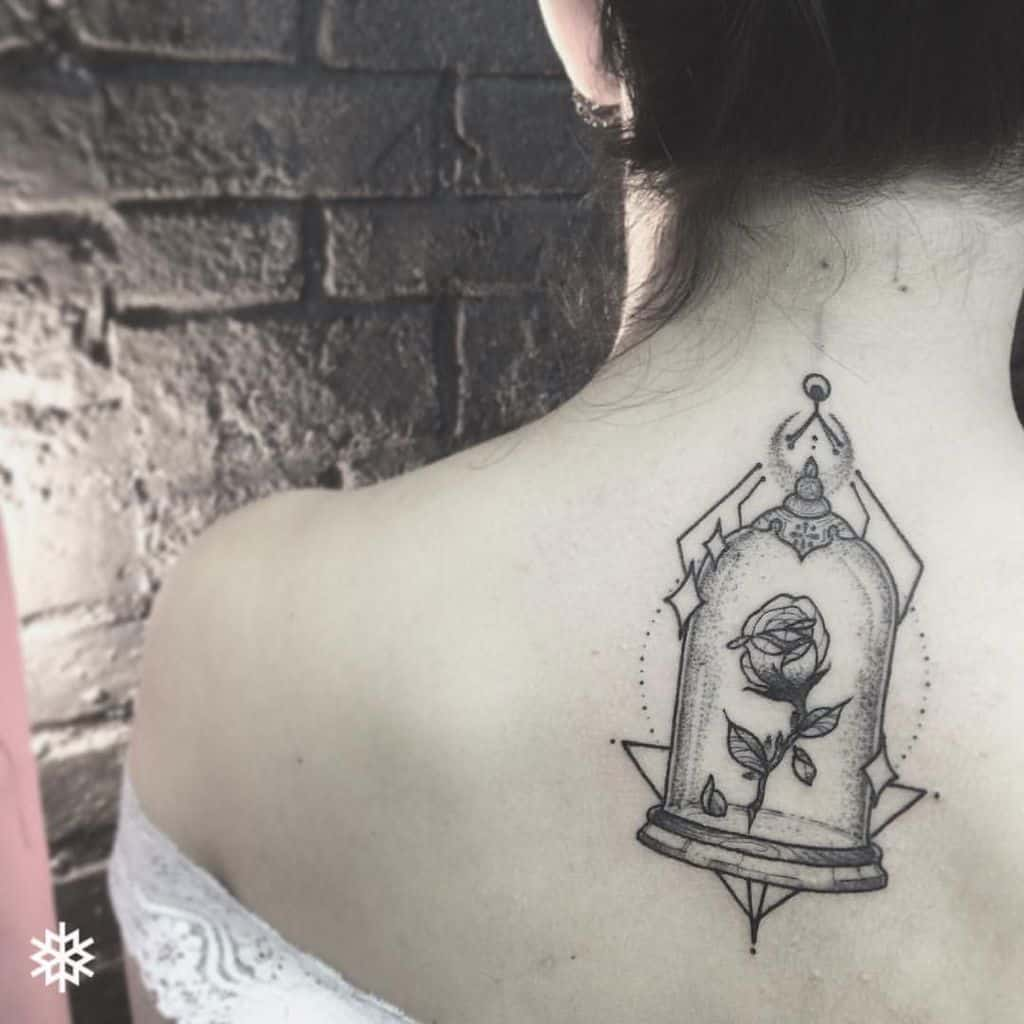 Body Art Disney Tattoos Beauty And The Beast