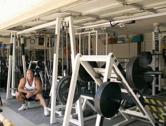 Bodybuilding Garage Gym Ideas