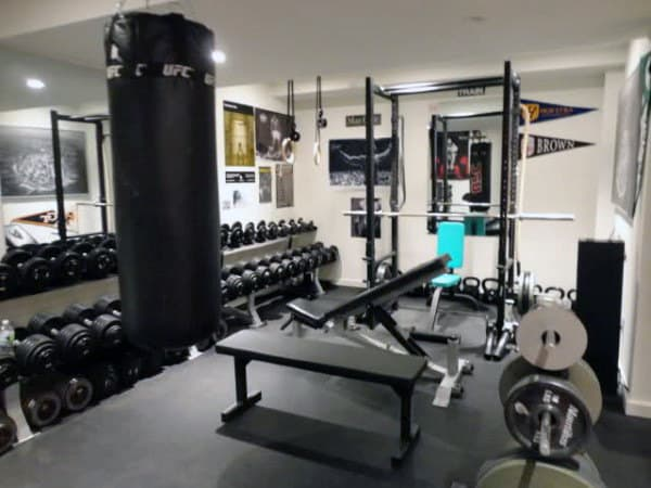 bodybuilding home gym designs