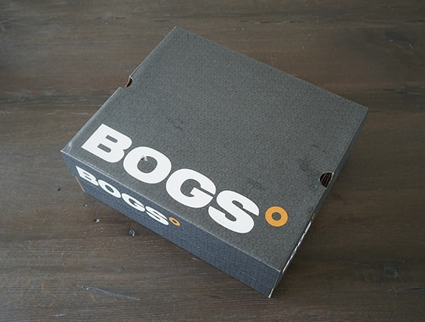 Bogs Foundation Mid Leather Composite Toe Boots Shoe Box