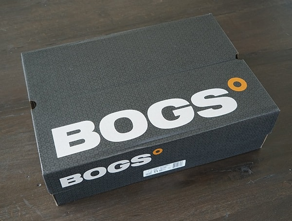 Bogs Stockman Composite Toe Boots Shoe Box