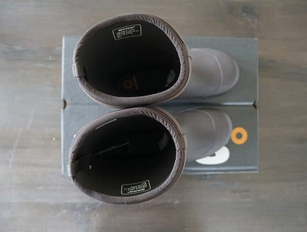 Bogs Stockman Composite Toe Boots Top View