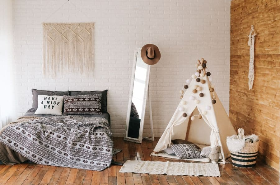 boho bedroom decor ideas 3