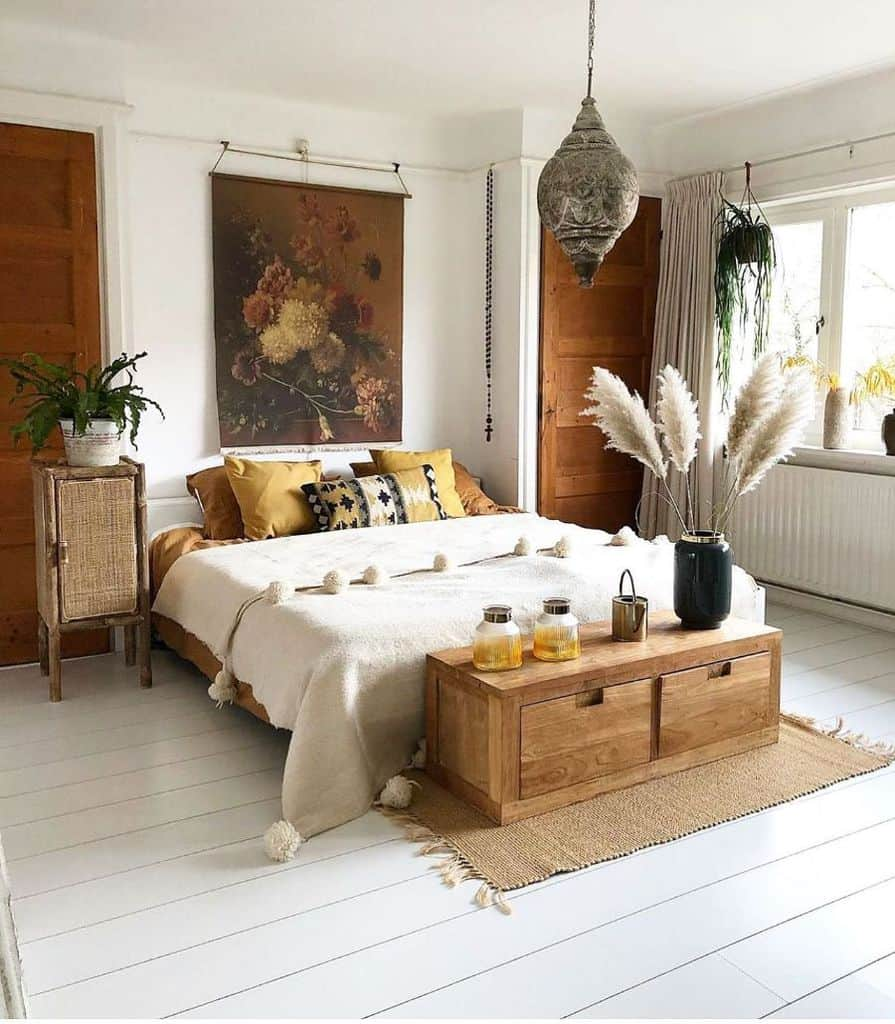boho bedroom ideas for women ireneburg7