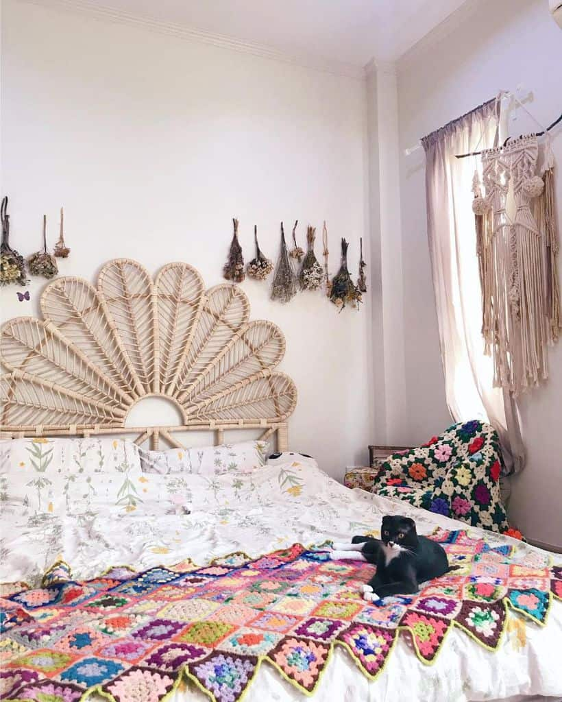 boho bedroom ideas for women khawpann