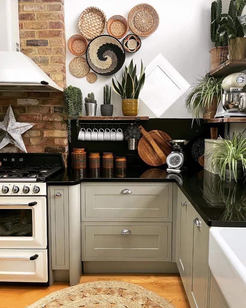 boho decor kitchen decor ideas bungalow_fifty8