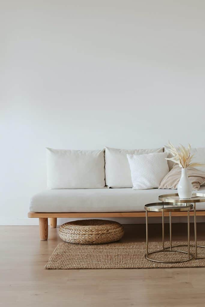 Boho Minimalist Living Room 1