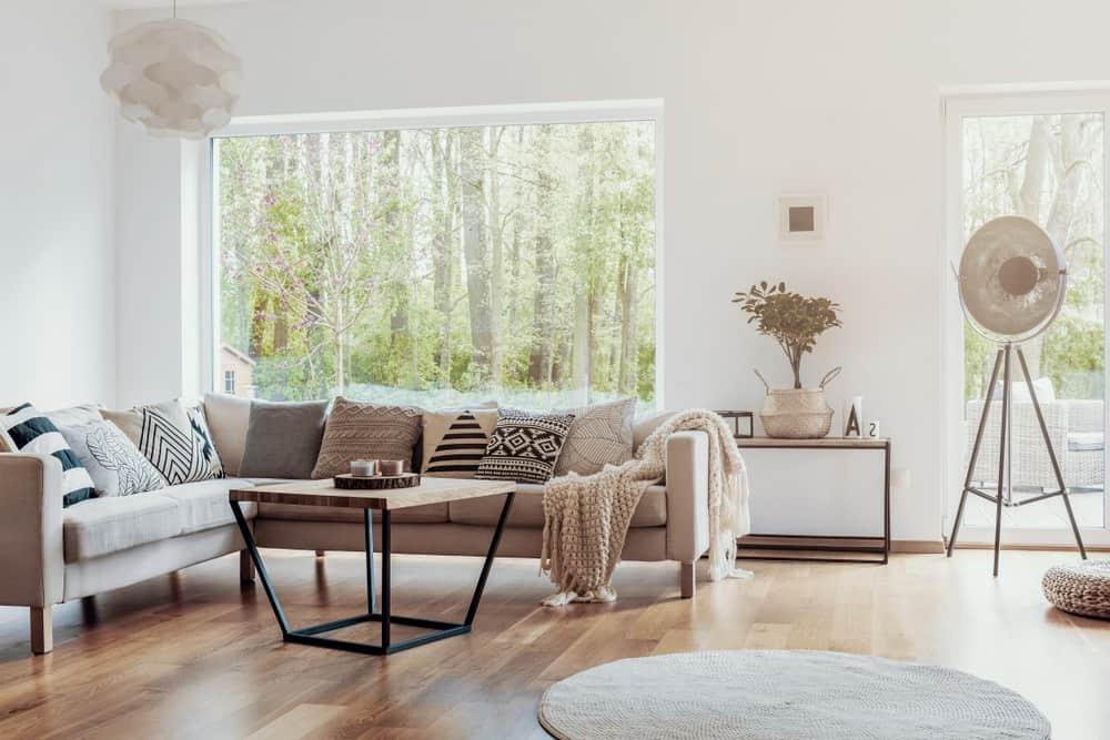 Boho Minimalist Living Room 2