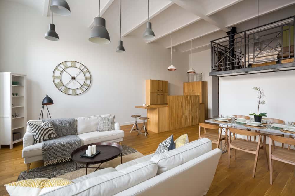 Boho Minimalist Living Room 3