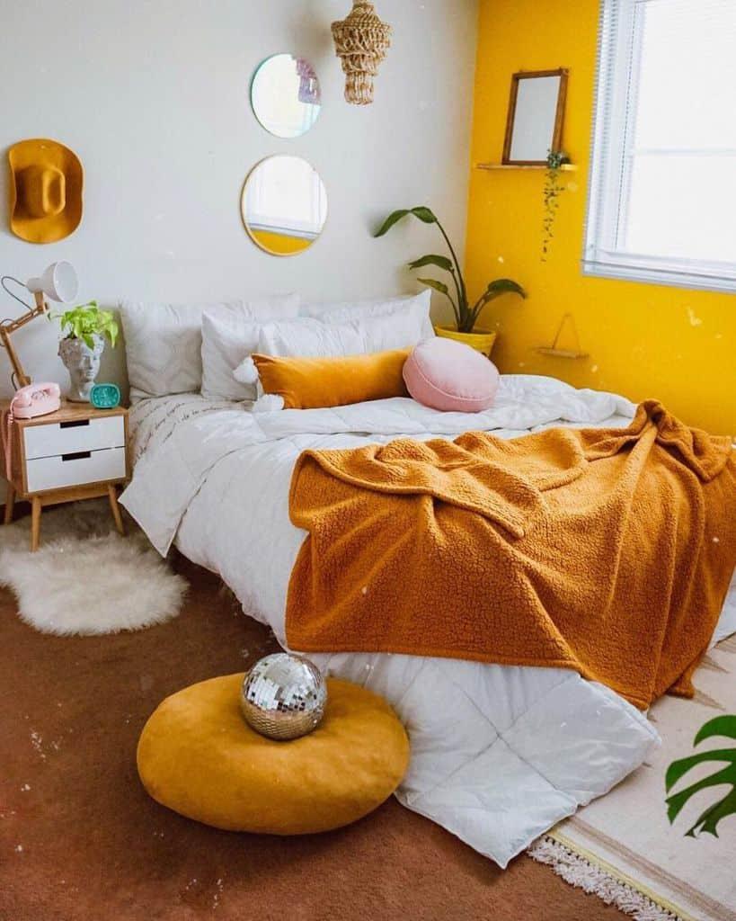 boho yellow bedroom ideas nia_renteria