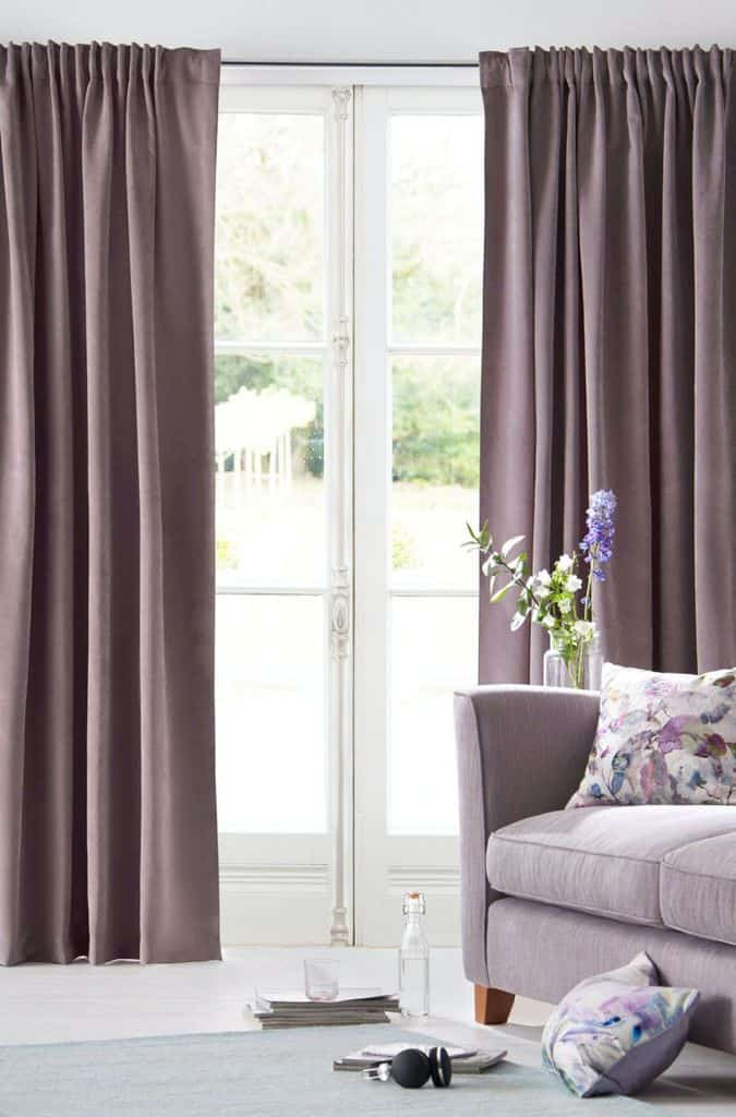Bold Colors Living Room Curtain