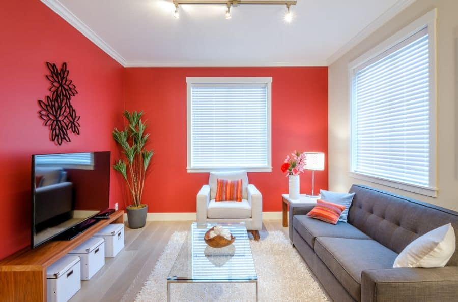 Bold Colors Living Room Paint Ideas 2