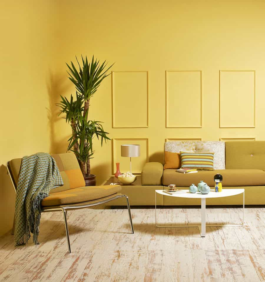 Bold Colors Living Room Paint Ideas 7