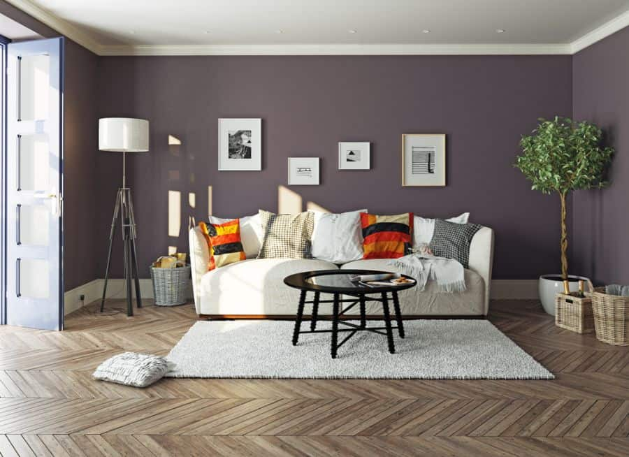 Bold Colors Living Room Paint Ideas 8