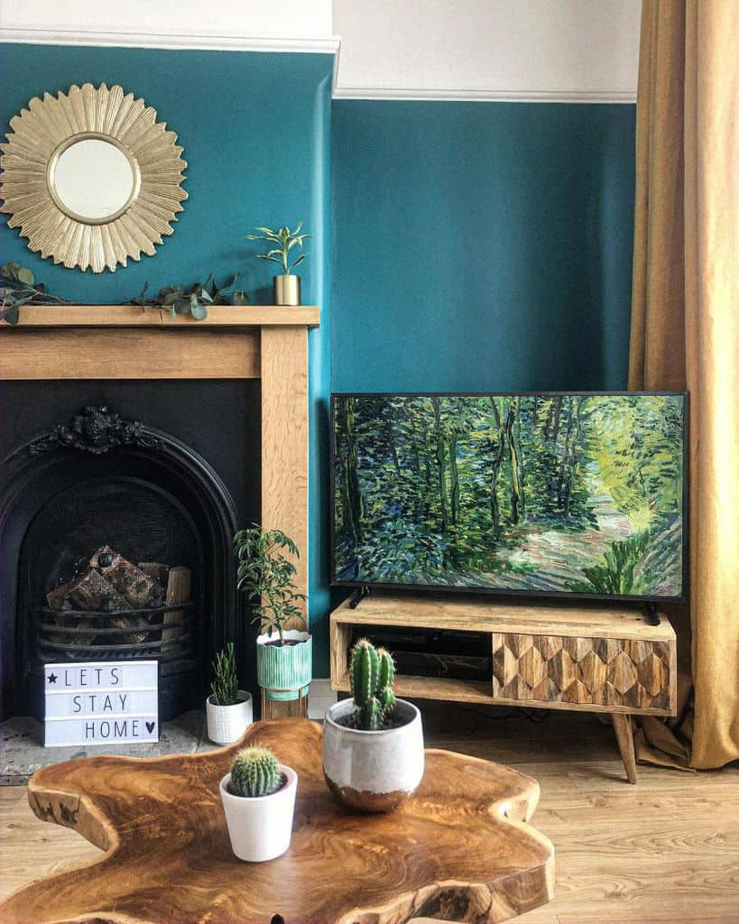 Bold Colors Living Room Paint Ideas No.10 On The Avenue