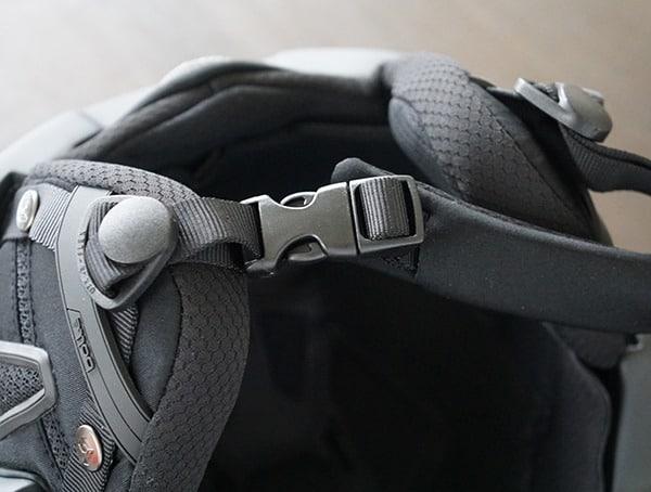 Bolle Instinct Mips Protective Ski Helmet Chin Strap Detail