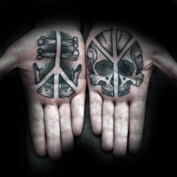 Inner hand tattoos have earned a reputation for being quite an ...