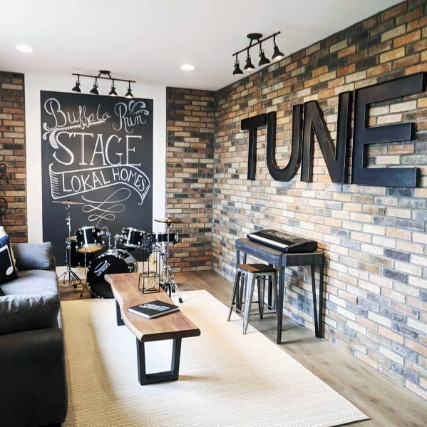 Bonus Room Interior Ideas Music Stage