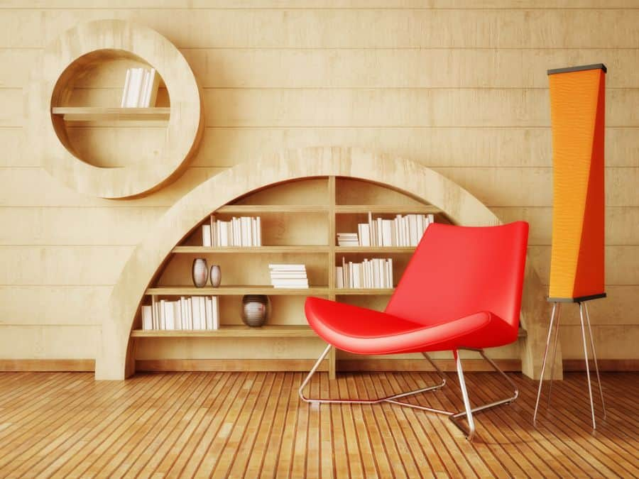 Bookcase Reading Nook Ideas 3