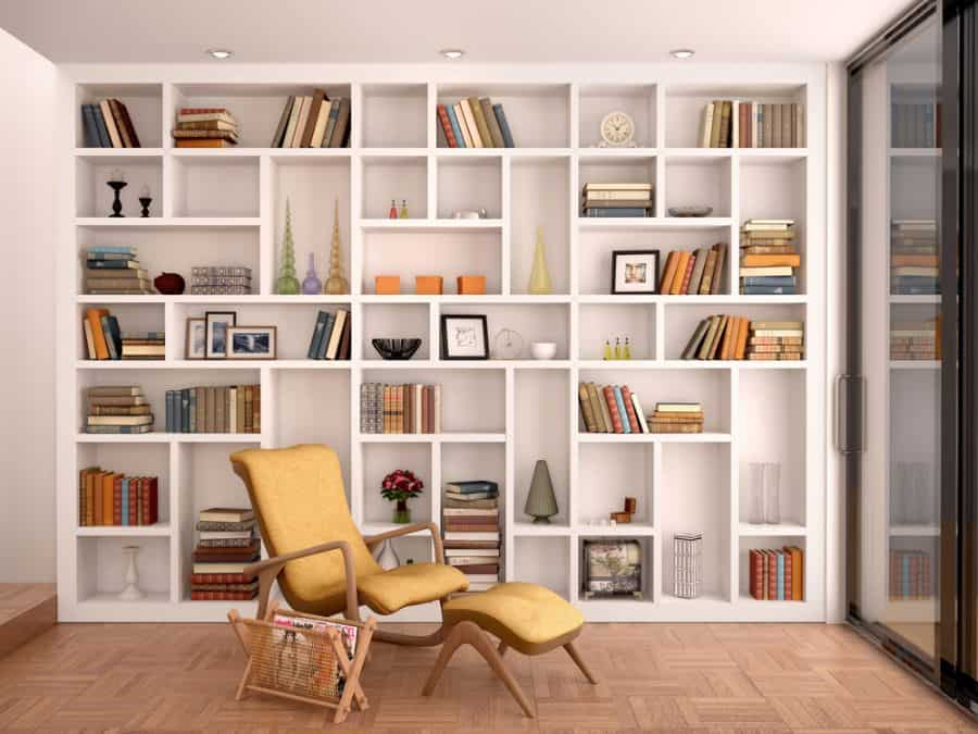 Bookcase Reading Nook Ideas
