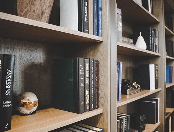 Bookcase With Hidden Door 2019 New American Remodel