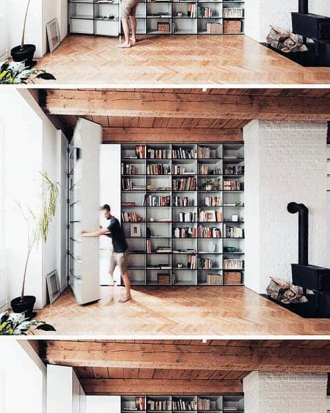 Bookcases Hidden Doors Interior Ideas