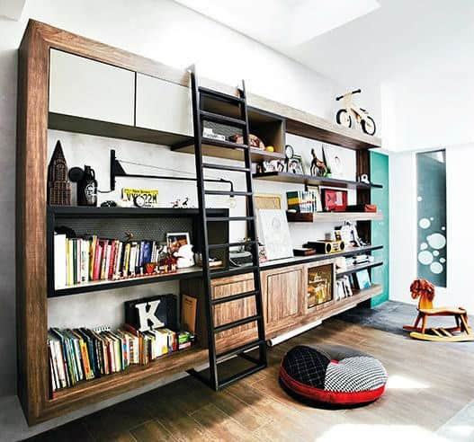 Bookshelf Ideas For Small Rooms