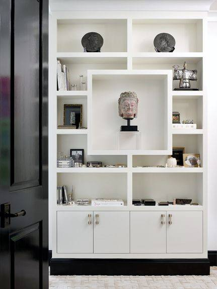 Bookshelf Painting Ideas