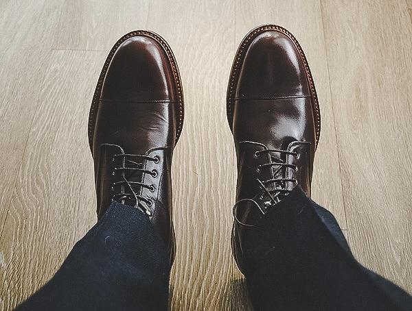 Bordeaux Beckett Simonon Dowler Cap Toe Boots For Men Review