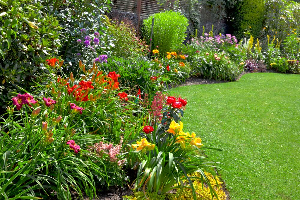border garden flower garden ideas 1