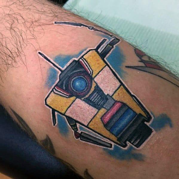 Borderlands Male Tattoo Designs