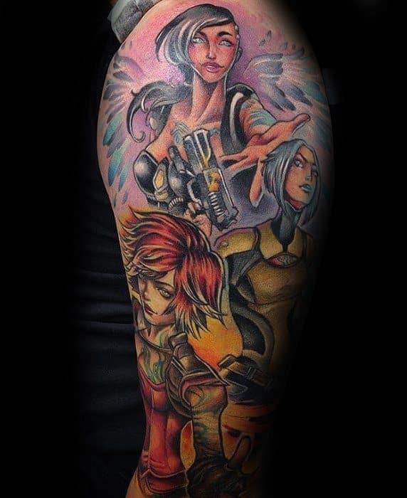 Borderlands Male Tattoos