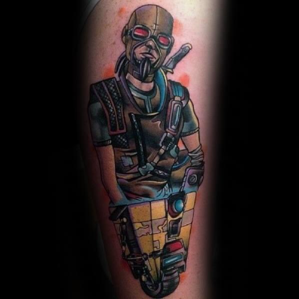 Borderlands Tattoo Designs For Guys