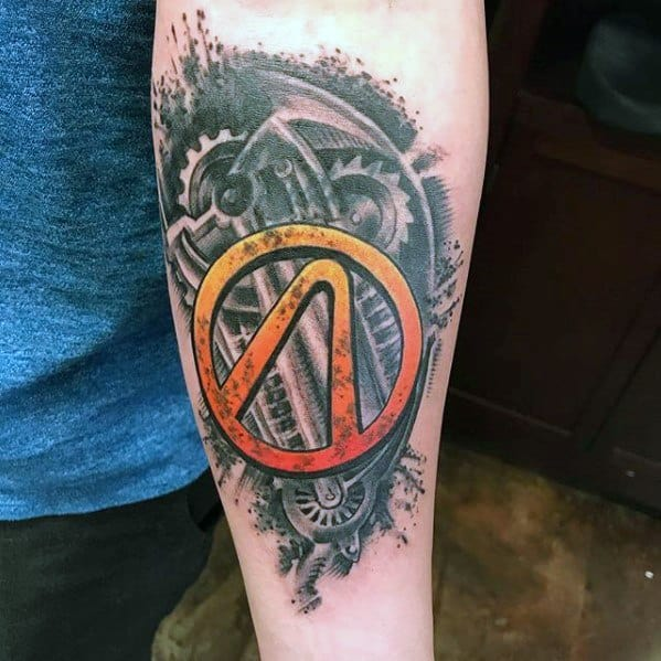 Borderlands Tattoo Ideas On Guys