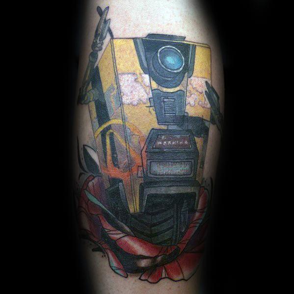 Borderlands Tattoos Guys