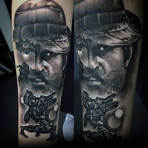 Borderlands Tattoos Men