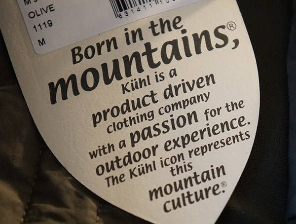 Born In The Mountains Tag Guys Kuhl Wildkard Hybrid Insulated Jacket