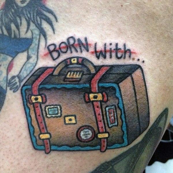 75 Travel Tattoos For Men - Adventure Design Ideas