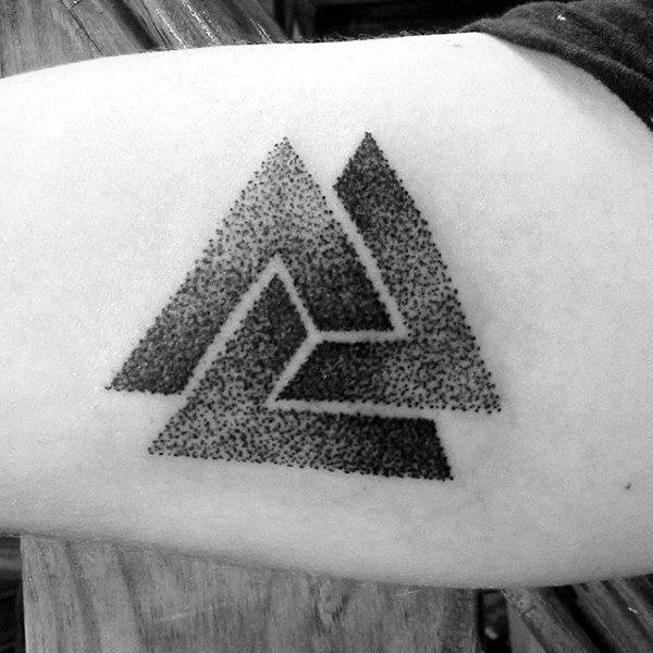 Valknut  Innenarm Tattoos