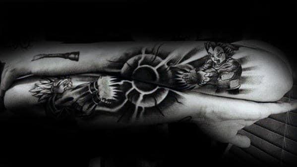 40 Vegeta Tattoo Designs For Men Dragon Ball Z Ink Ideas