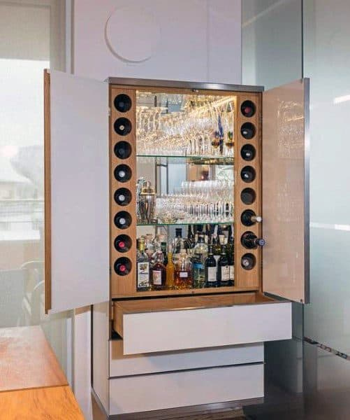 Bottle Storage Mini Bars